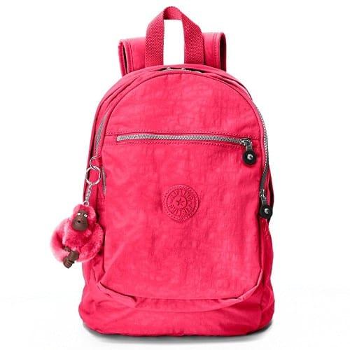 Kipling Challenger II Backpack Vibrant Pink