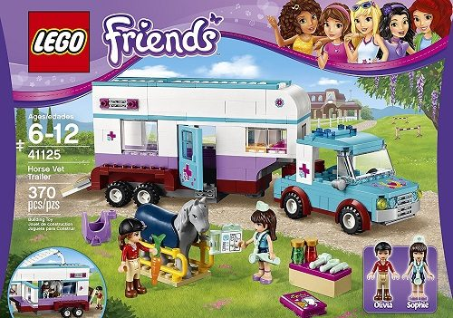 LEGO Friends Horse Vet Trailer Building Kit