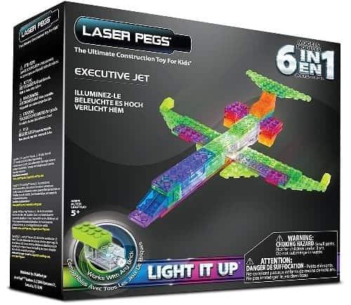 Laser Pegs 6 in 1 Plane Building Set