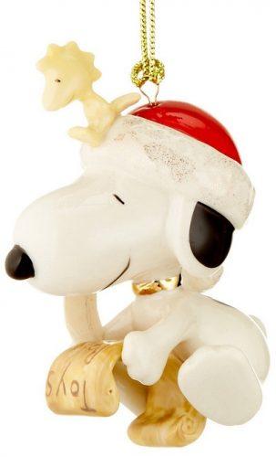 Lenox Snoopy Christmas Ornament