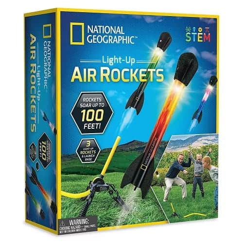 Light-Up Air Rockets Set