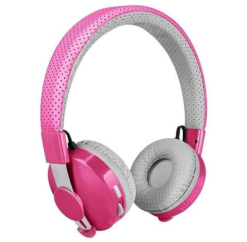 LilGadgets Untangled Pro Premium Children's Wireless Bluetooth Headphones with SharePort