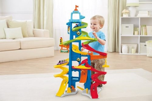 Little People City Skyway by Fisher-Price | Gifts for 3 year old boys