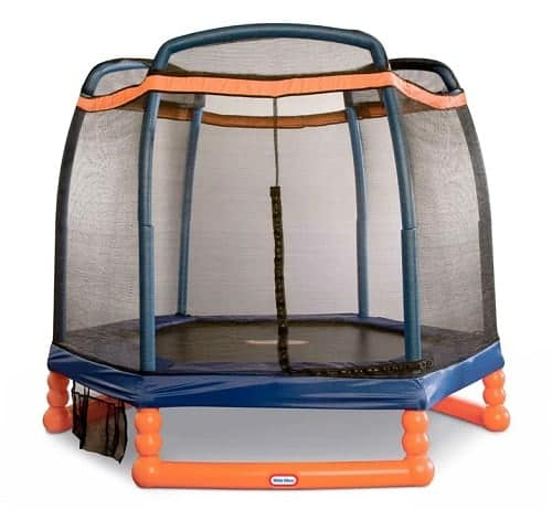 Little Tikes Hexagon Trampoline with Safety Enclosure