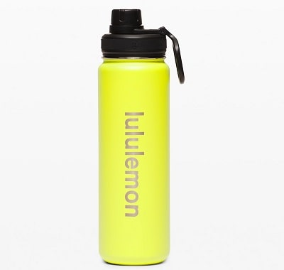 LuluLemon Back to Life Water Bottle
