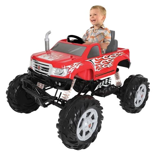 Monster Truck 24 Volt Ride-On   Ride on Toy Gifts for 6 Year Old Boys