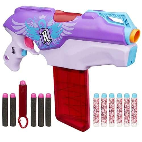 Nerf Rebelle Rapid Red Blaster - Gifts for 13 Year Old Girls
