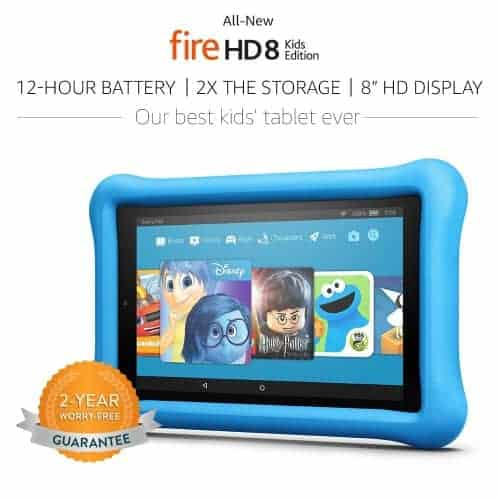 New Fire HD 8 Inch Kids Edition Tablet