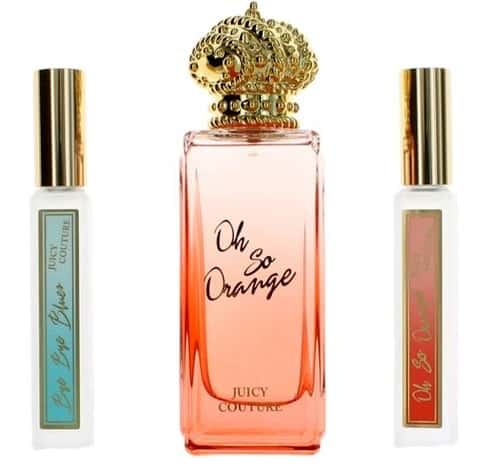 Oh So Orange by Juicy Couture, 3 Piece Gift Set