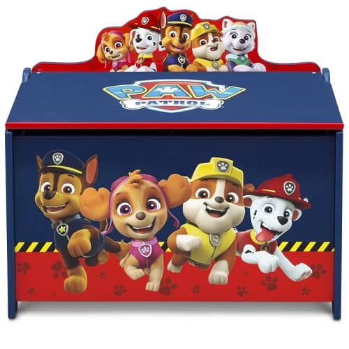 Paw Patrol Deluxe Toy Box