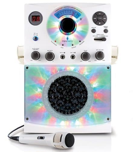 Singing Machine Karaoke System With Disco Lights | Best Gifts for 12 Year Old Girls