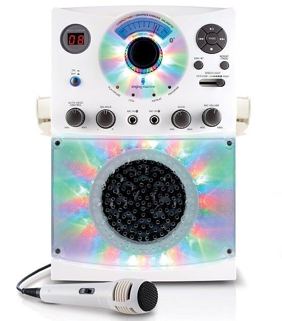 Singing Machine Karaoke System With Disco Lights