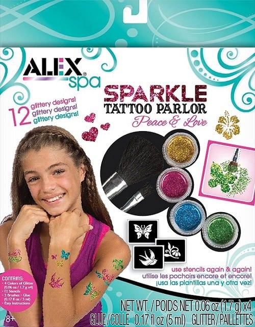 Spa Fun Sparkle Tattoo Parlor