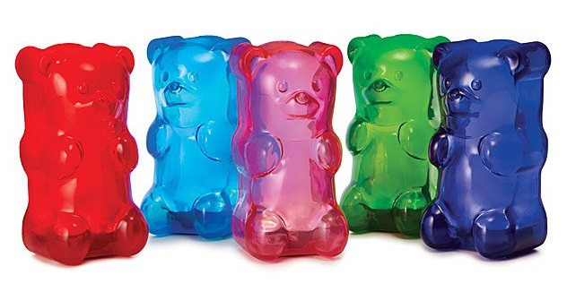 Squishy Gummy Bear Light