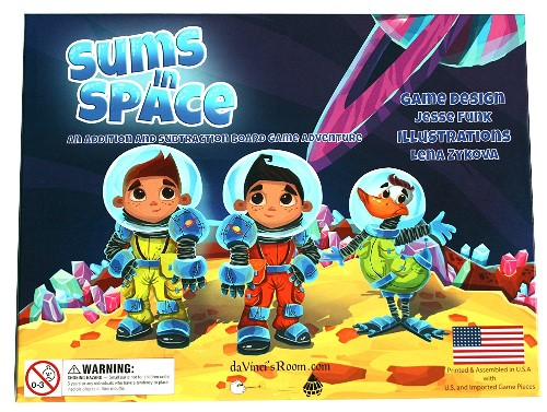 Sums In Space Game