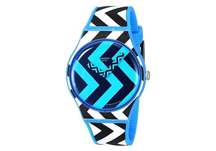 Swatch Blue Zag