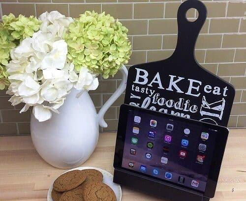 Tablet Holder for the Kitchen
