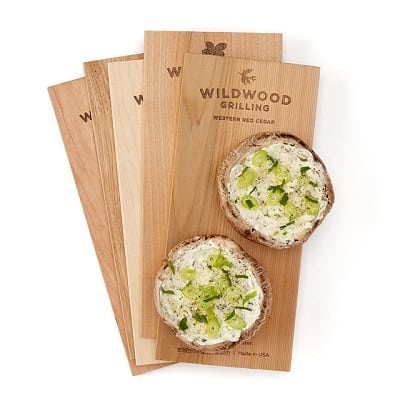 Wood Smoke Grilling Planks