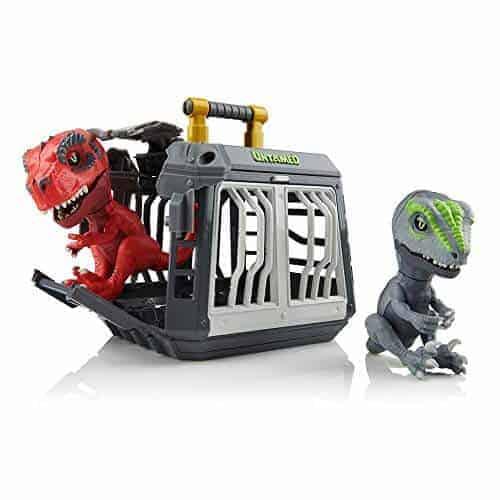 WowWee Untamed T-Rex + Raptor Jailbreak Playset