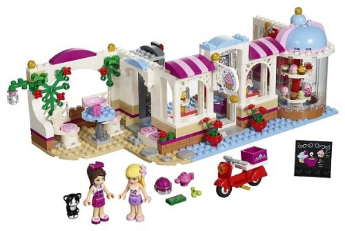 Heartlake Cupcake Cafe by Lego Friends