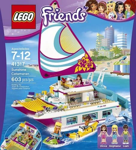 LEGO Friends Sunshine Catamaran Building Kit