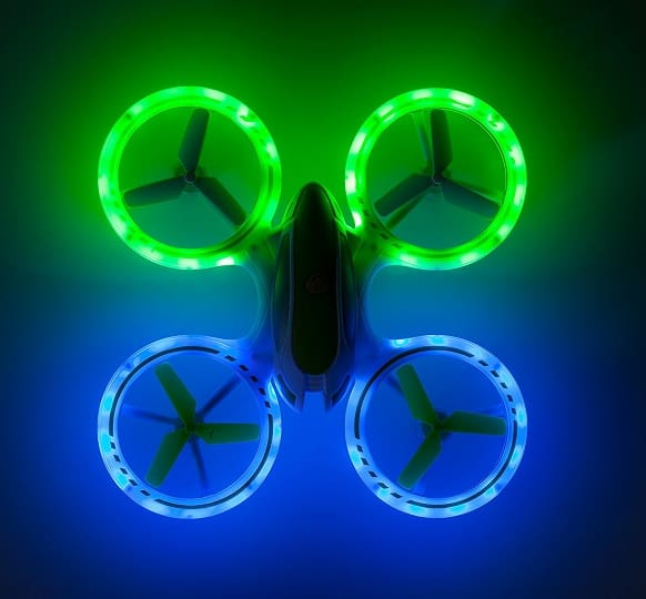 UFO 3000 LED Drone for Girls and Boys by USA Toyz