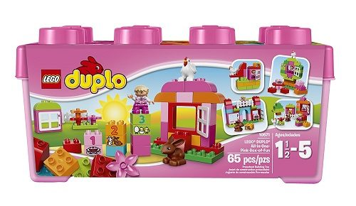 All in One Pink Box of Fun by Lego Duplo