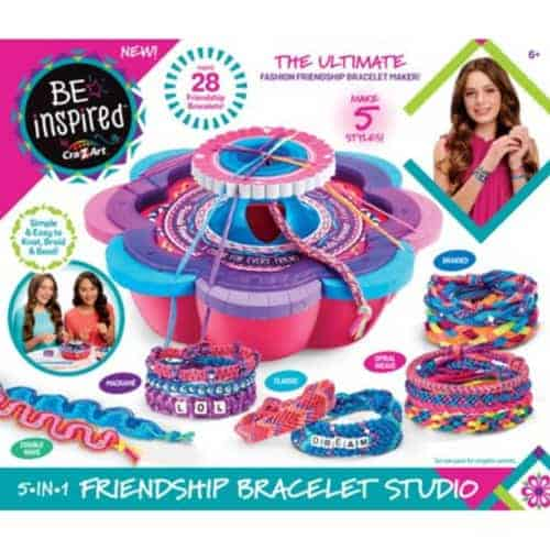 Be Inspired 5-IN-1 Friendship Bracelet Studio