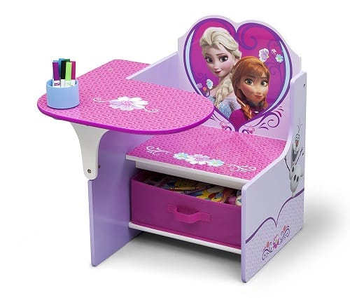 Disney Frozen Chair Desk With Storage Bin