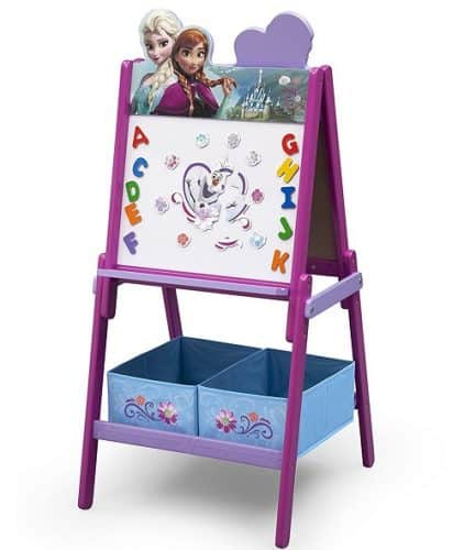 Disney Frozen Double Sided Activity Easel with Storage