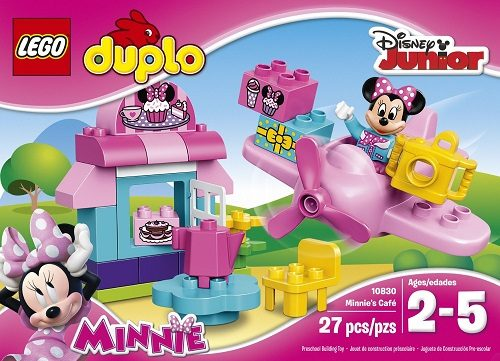 Disney Mickey Mouse Clubhouse Minnie's Cafe by Lego Duplo