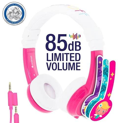 Foldable Volume Limiting Kids Headphones