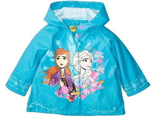 Frozen Fearless Sisters Rain Coat