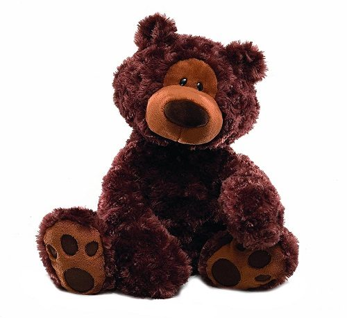 GUND Philbin Chocolate Teddy Bear | Gift for 2 year old girls