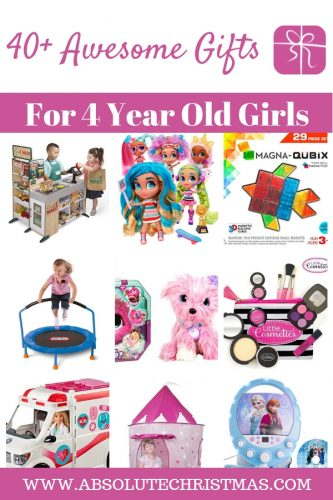 Gifts for 4 year old girls - Best Gift Ideas for Girls Age 4