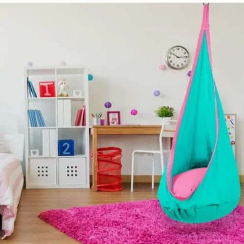 Kid's Hanging Pod Hammock Swing Chair