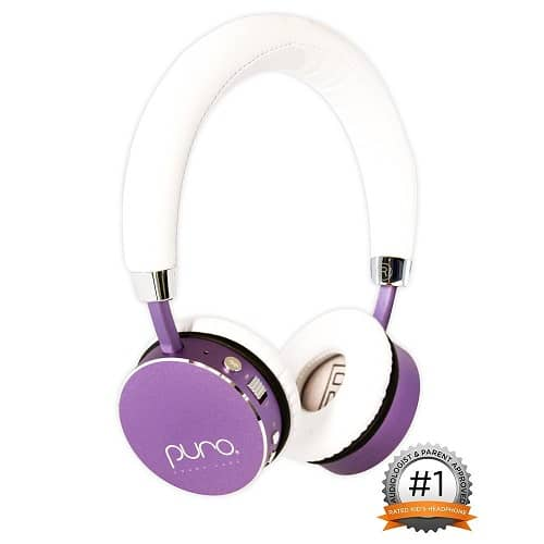 Kids Volume Limiting Bluetooth Wireless Headphones