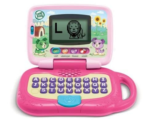 LeapFrog My Own Leaptop, Pink | Gift for girls age 4 | Fun and educational toy