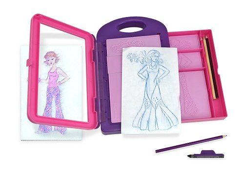 Melissa & Doug Fashion Design Art Activity Kit