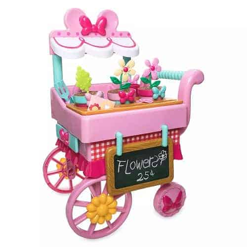 Minnie Mouse Flower Cart Play Set