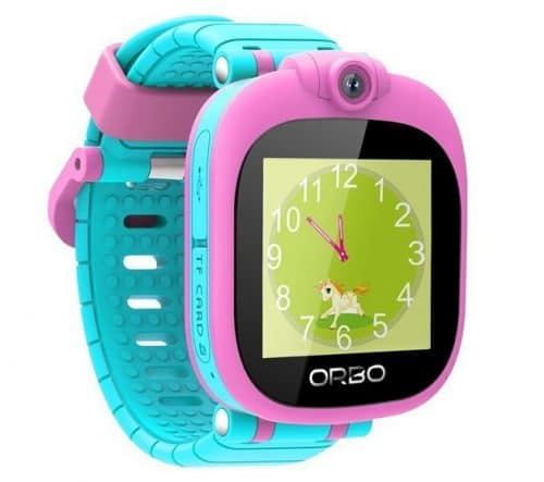 Orbo Kids Bluetooth Phone Pairing Smartwatch with Rotating Camera