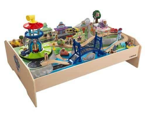PAW Patrol Adventure Bay Wooden Play Table By KidKraft