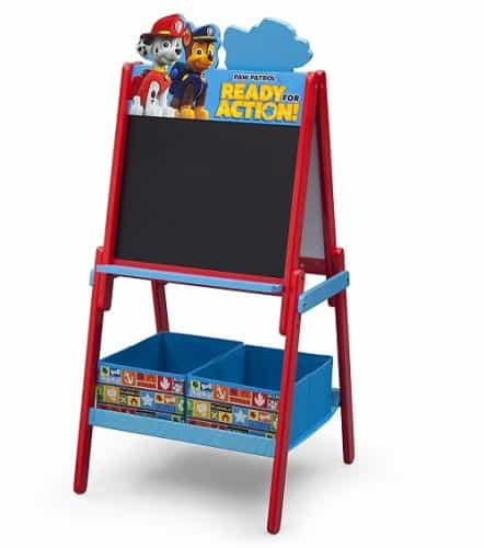 PAW Patrol Double Sided Activity Easel with Storage