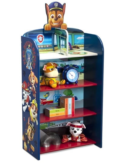Paw Patrol Wooden Playhouse Bookcase