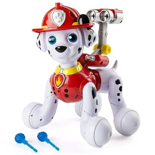 Paw Patrol Zoomer Marshall - Interactive Pup with Missions, Sounds and Phrases
