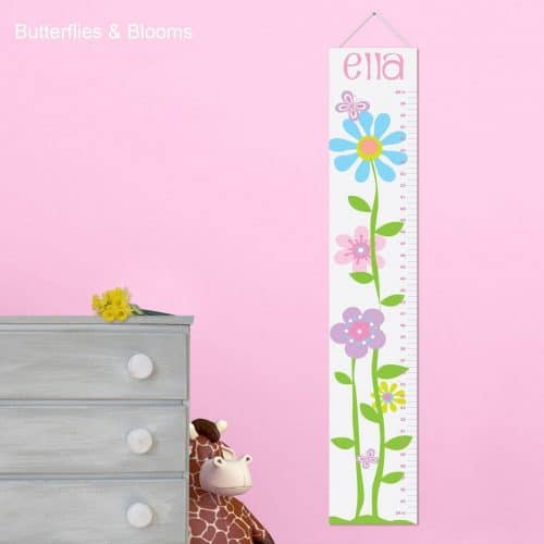 Personalized Growth Chart for Girls