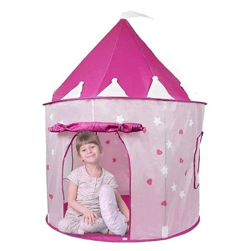 Play Tent Princess Castle with Glow in the Dark Stars