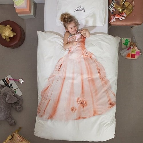 Princess Duvet and Pillowcase Set