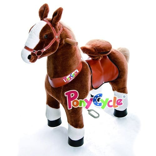 Smart Gear Pony Cycle Brown Horse Riding Toy
