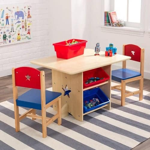 Star Kids 5 Piece Arts and Crafts Table and Chair Set 2